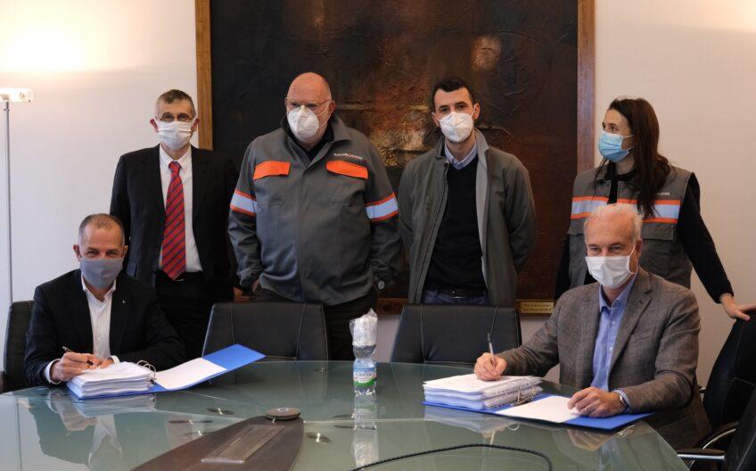 Firmata la fornitura tra Duferco e SMS Group